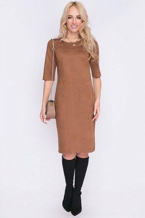 Отличное замшевое платье
