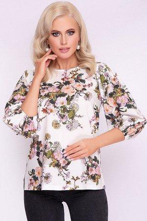 Блузка Блузка из текстильного полотна. 30% вискоза 65% п/э,5% эластан