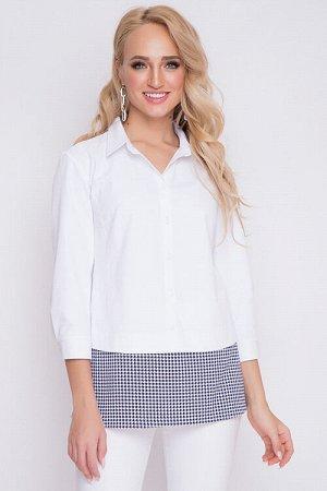 Блузка Блузка из текстильного полотна. 70 % хлопок 30 % п/э