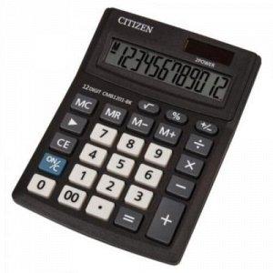 Калькулятор 12 разрядов CITIZEN BusinessLine CMB1201-BK 2 питания 138х103х24 мм CITIZEN {Китай}