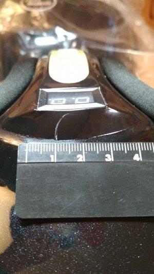 Чёрный  Массажер для ног роликовый с ИК подогревом FOOT MASSAGE (воздушно-компрессионный)