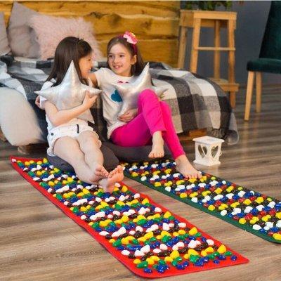 Массажные коврики. Сформируй правильный свод стоп у детей