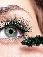Фибро-Тушь для ресниц - Черно-зеленая