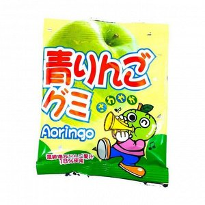 Мармелад жевательный зеленое яблоко YAOKIN 25гр