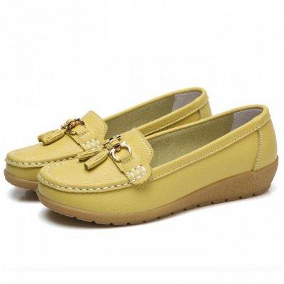 Кожаная обувь по отличной цене! Туфли, кроссовки, сандалии — Женские мокасины — Мокасины