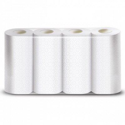 Чистота залог здоровья! Гигиена, уход — все со скидками — Прочные бумажные полотенца. Отличная цена за 4 рулона