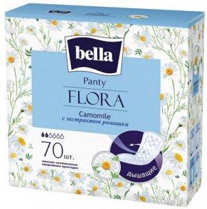 Прокладки ежедневные Bella Flora Camomile, 70 шт./уп. (с экстрактом ромашки)