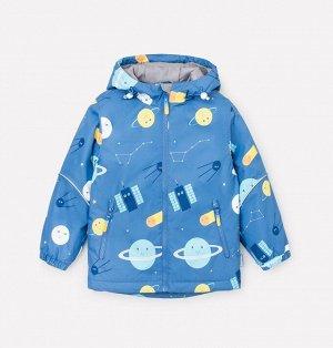 Куртка демисезонная утепленная для мальчика Crockid ВК 30084/н/2 ГР