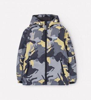 Куртка демисезонная утепленная для мальчика Crockid ВК 30092/н/2 ГР