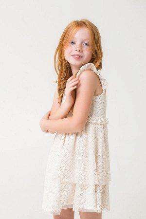 Платье(Весна-Лето)+girls (белая лилия к285)