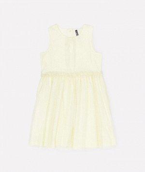 Платье для девочки Crockid КР 5674 бледно-лимонный к279