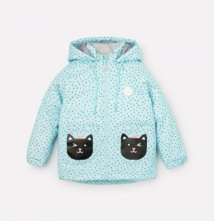Куртка демисезонная утепленная для девочки Crockid ВК 32100/н/2 ГР