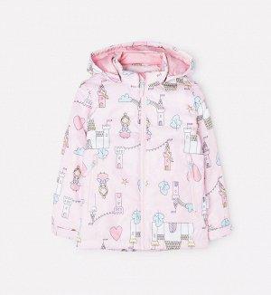Куртка демисезонная утепленная для девочки Crockid ВК 32097/н/1 УЗГ