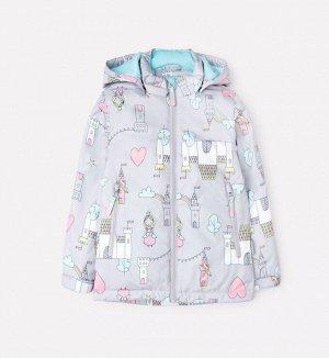 Куртка демисезонная утепленная для девочки Crockid ВК 32097/н/2 УЗГ