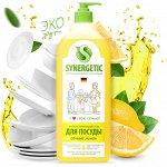 Synergetic Антибак. гель для мытья посуды и фруктов 1л Лимон