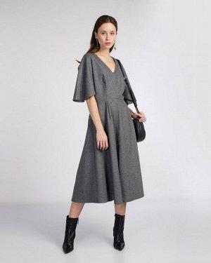 Платье жен. (184006) серый