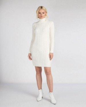 Платье жен. (110602) белый натуральный