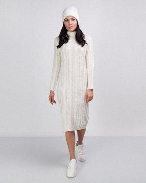 Платье жен. (110602)белый натуральный