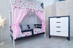 Кровать Домик Классика 160*80 белый П