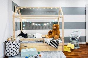 Кровать Домик Классика 160*80 натуральный П