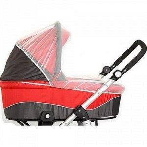 *Сетка москитная для коляски Leader Kids Классика, с резинкой, цвет серый