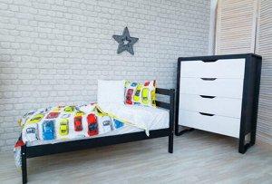 Кровать белая подростковая 160*80 П
