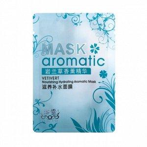 40 г* Маска для лица косметическая тканевая питательная с маслом ветивера