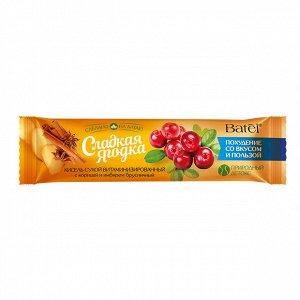 20 г* Кисель сухой витаминизированный с корицей и имбирем брусничный «Сладкая ягодка»