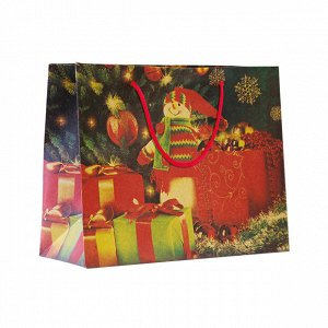 1 шт.* Крафт-пакет новогодний «Время теплых объятий»