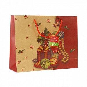 1 шт.* Крафт-пакет новогодний «Хоровод чудес»
