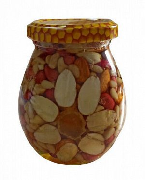 Ассорти орехов в меду 230 мл.