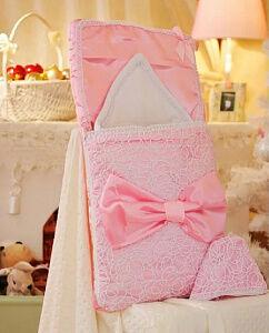 *Комплект на выписку Арго Ажур, 3 предмета, демисезонный, цвет розовый