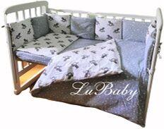 КПБ 3 предм. комплект постельного белья в кроватку Звездный единорог, сер.