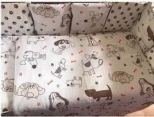 КПБ 3 предм. комплект постельного белья в кроватку Лапки