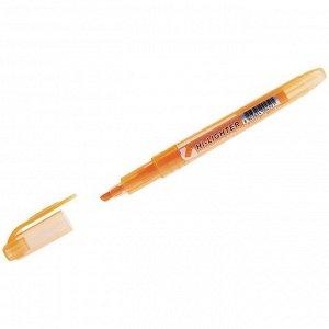 """Текстовыделитель Crown """"Multi Hi-Lighter"""" оранжевый, 1-4мм"""