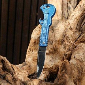 """Нож складной """"Гитара"""", цвет микс 12см, клинок 4,5см"""