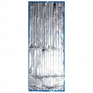 Покрывало термо «СЛЕДОПЫТ», 90 х 210 см, цвет серебро