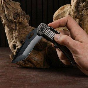 """Нож складной полуавтоматический """"Автомат"""", 21см, клинок 9см"""