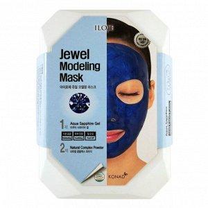 """726066 """"Konad"""" """"Iloje Jewel Modeling Mask (Aqua Sapphire)"""" Питательная маска для лица с сапфировой пудрой 50 гр"""