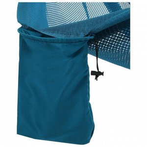 Гамак 260 х 140 см, нейлон, цвет голубой