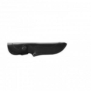 Чехол для ножа закрытый, малый, с лезвием длиной 12,5 см, кожаный, микс цветов