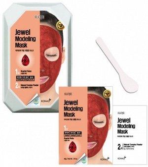 """726073 """"Konad"""" """"Iloje Jewel Modeling Mask (Ruby)"""" Восстанавливающая маска для лица с рубиновой пудрой 50 гр"""