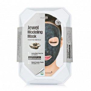"726080 ""Konad"" ""Iloje Jewel Modeling Mask (Black Pearl)"" Маска для лица с жемчужной пудрой 50 гр"