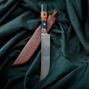Нож Пчак Шархон - рукоять эбонит, клинок 17см 6769505