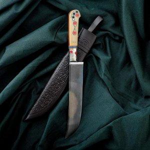 Нож Пчак Шархон - рукоять эбонит, клинок 16-17см