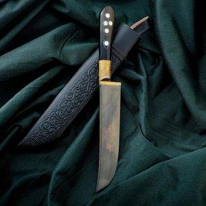 Нож Пчак Шархон - рукоять текстолит, клинок 15-16см