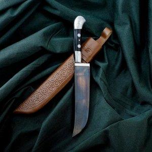 Нож Пчак Шархон - рукоять эбонит, металл, клинок 16см 6769516