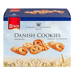 Печенье печенье BISCA Danish Cookies 375 г Традиционное датское печенье в картонной упаковке Изготовитель: Дания.