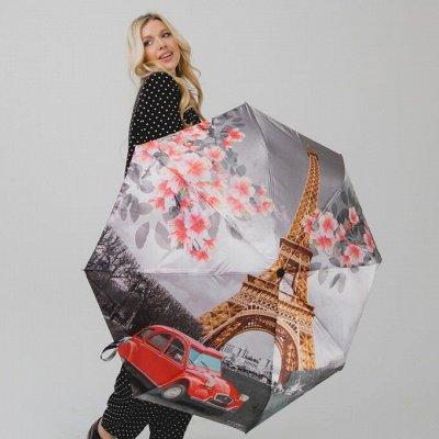 FJ-16. Красивые зонты Антишторм. Сумки, портмоне из кожи