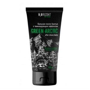 Бальзам после бритья тонизирующий эффект GREEN ARCTIC, 150 мл